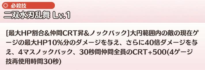 SSR アクアウェディング 三好夏凜の必殺技