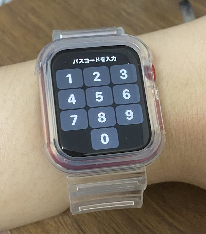 Apple Watchのロックは解除しておきましょう